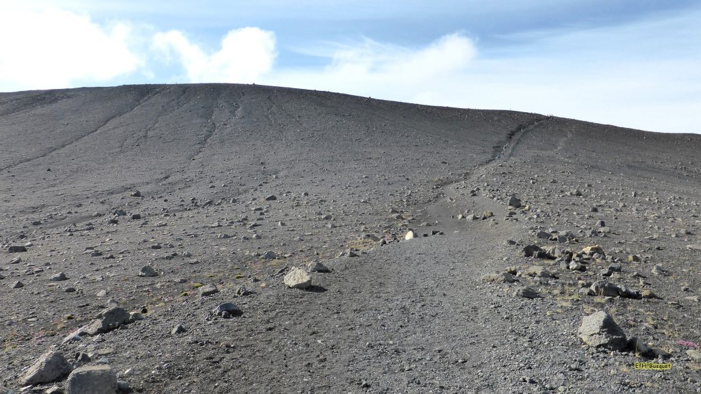 HD wallpaper Hverfjall volcano in Iceland