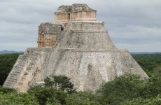 Pyramid of the Magician Uxmal Mexico
