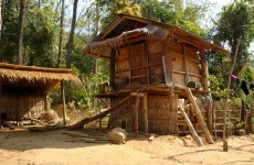 Fishing hut Thailand