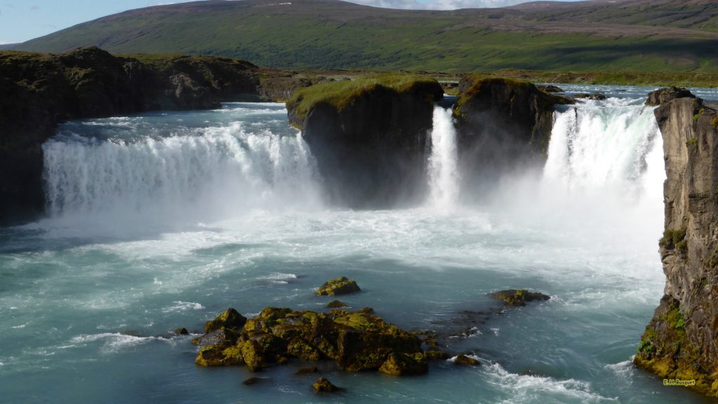 Godafoss waterfall in Iceland