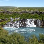 Hraunfossar waterfalls wallpapers