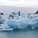 Ice floes in Iceland