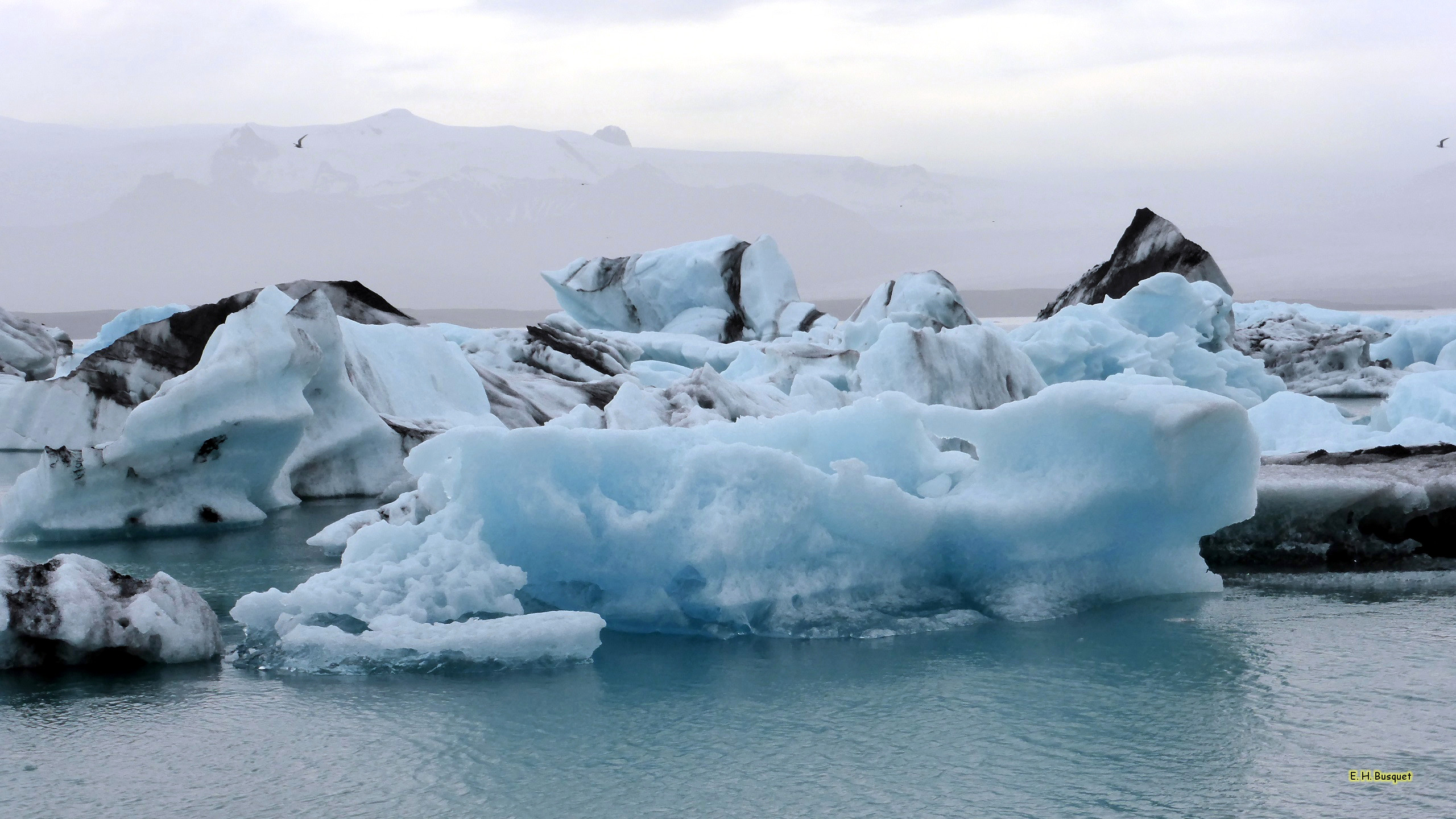 Ice Floes In Iceland Barbaras Hd Wallpapers