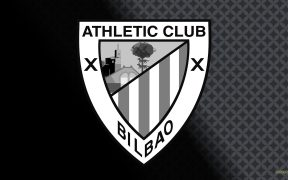 Black white Athletic Bilbao football wallpaper