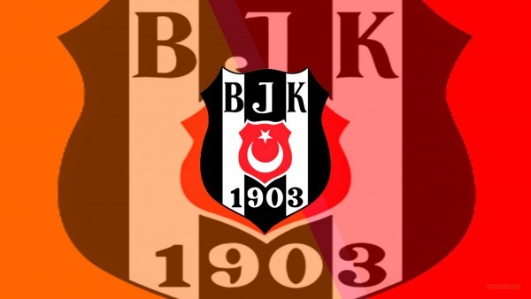 Beşiktaş J.K. football emblem wallpaper