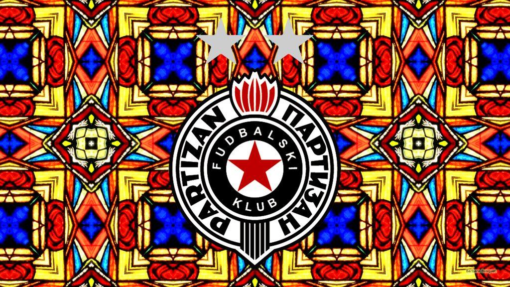 Church window Partizan Belgrade football wallpaper