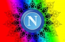 S.S.C. Napoli football logo wallpapers