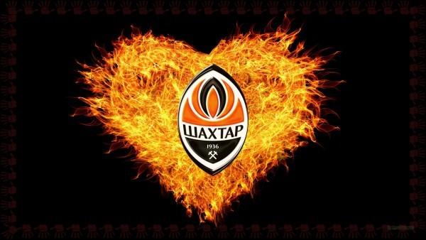 Dark FC Shakhtar Donetsk emblem wallpaper