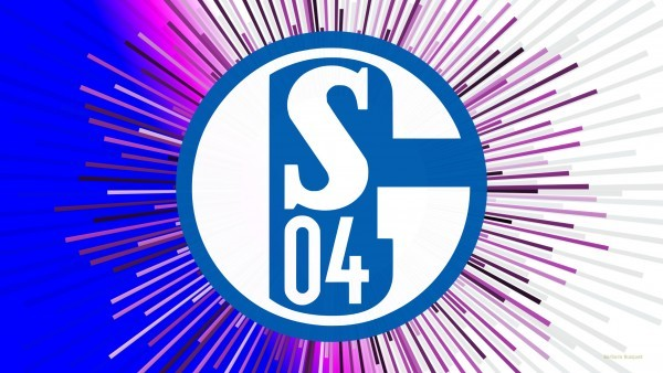 FC Schalke 04 wallpaper with huge emblem