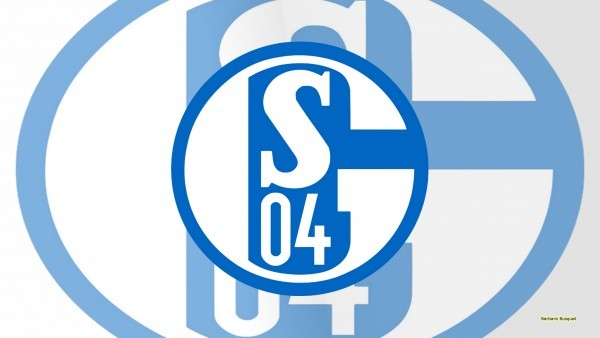 Light Schalke 04 logo wallpaper