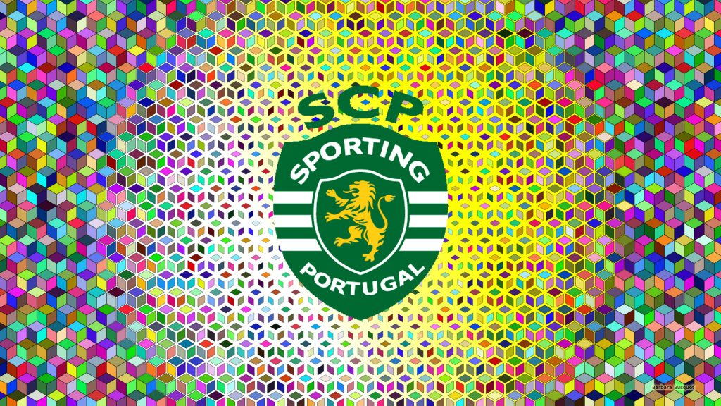 Sporting CP emblem wallpaper squares