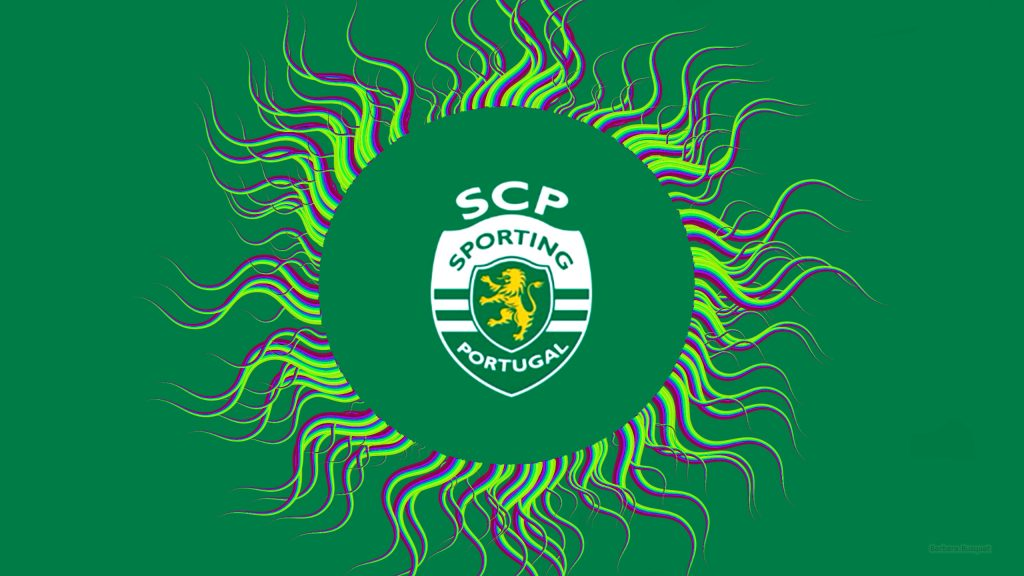Sporting CP football logo wallpaper