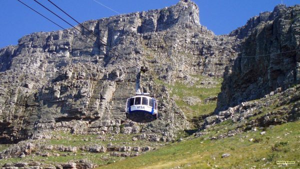 HD wallpaper with the Table Mountain Aerial Cableway