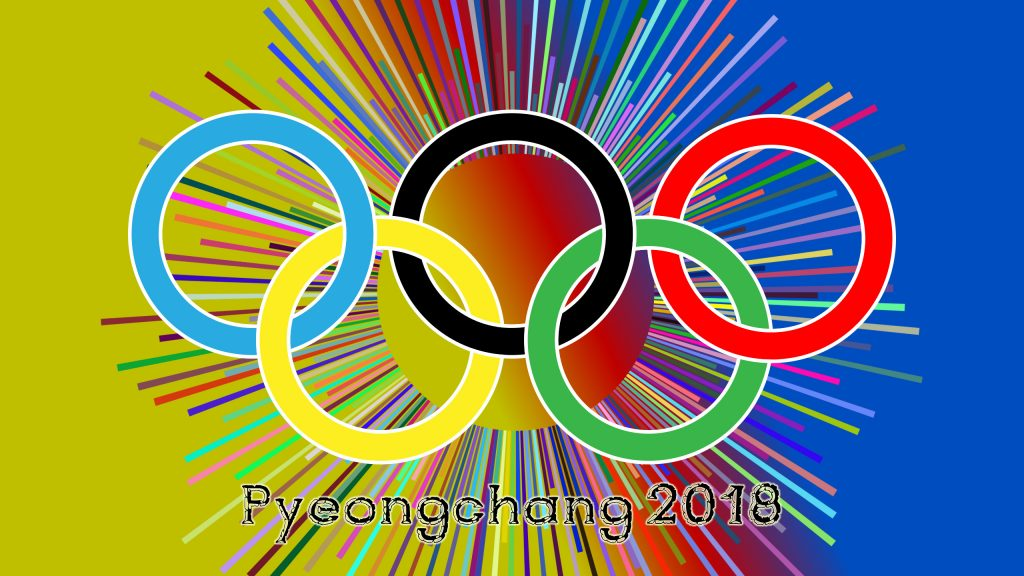 Colorful Pyeongchang 2018 wallpaper