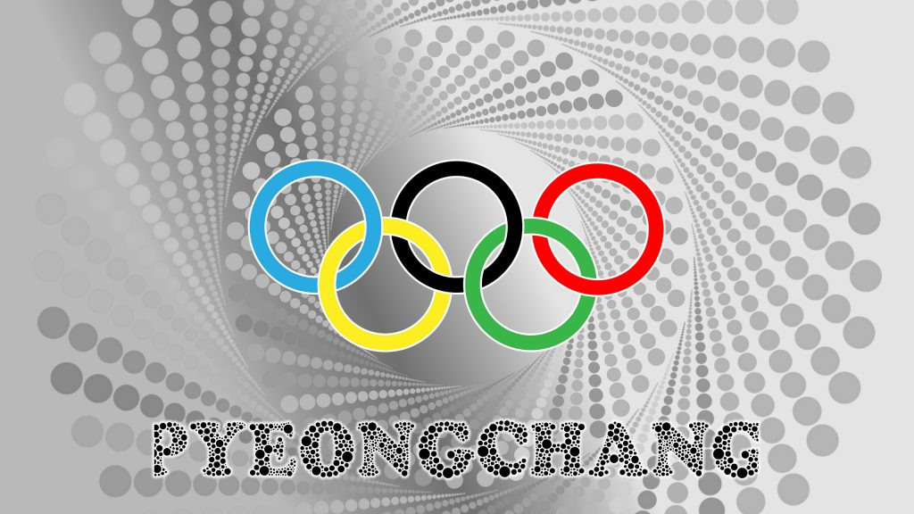 Gray Pyeongchang Olympic wintergames wallpaper