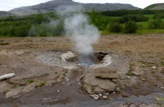 Litli Geysir (Little Geyser) wallpaper