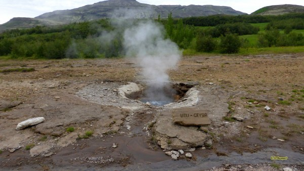 HD wallpaper Litli Geysir hot spring