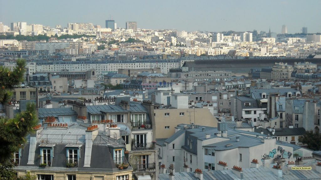 Paris city of light desktop background