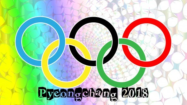 Pyeongchang Olympic stars wallpaper