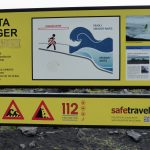 Dangerous sneaker waves Iceland