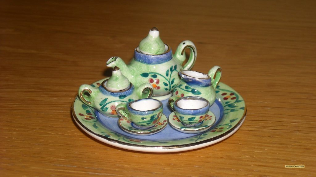 Tea set wallpaper