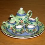 Tea set wallpaper