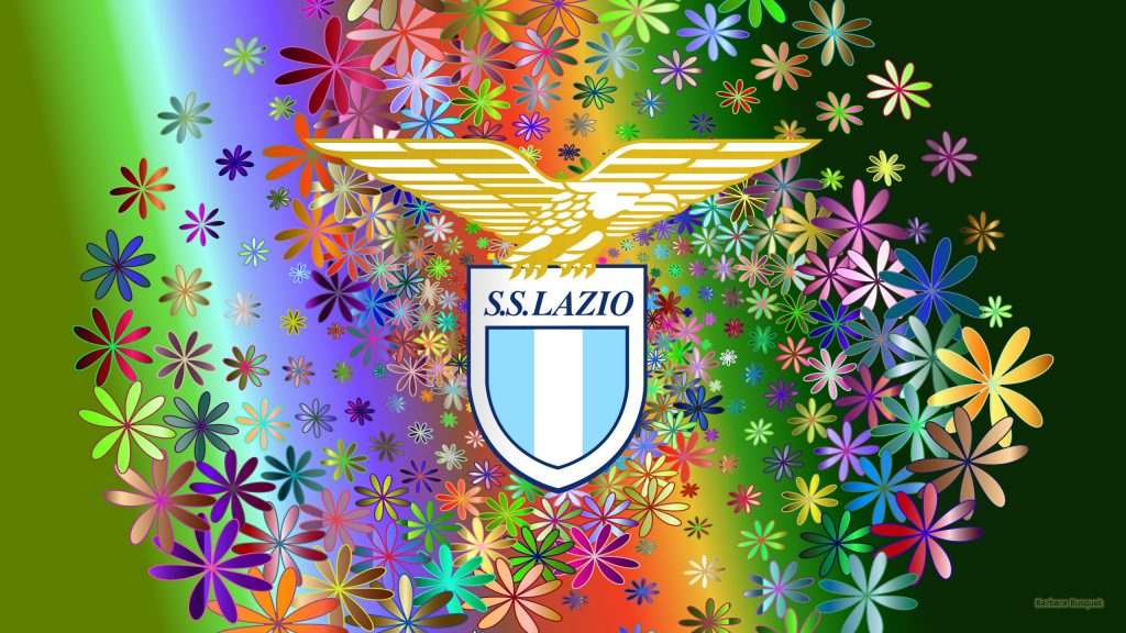 Green SS Lazio desktop background flowers