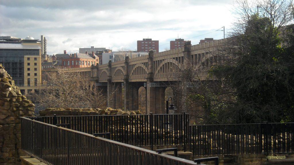 HD wallpaper bridge in Newcastle