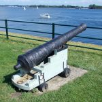 HD wallpaper old cannon to defend the city