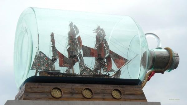 HD wallpaper ship in a bottle