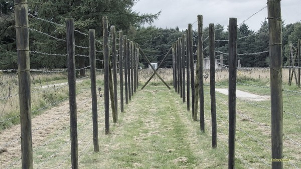 Barbed wire monument Westerbork
