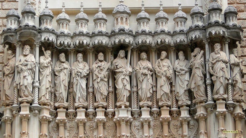 Jesus and twelve apostles in Spain