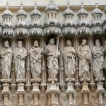Jesus and twelve apostles in Spain