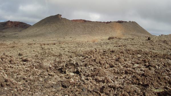 Lava landscape Lanzarote
