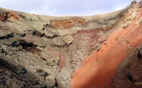 Lava landscape on Lanzarote