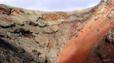 Lava landscape on Lanzarote